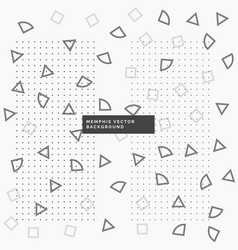 Background with geometrical shapes vector