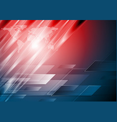 Abstract technology glossy background vector