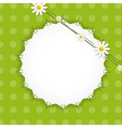 Flora daisyl design vector