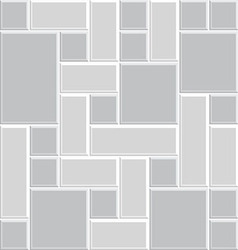 Modern square tile wall 06 vector