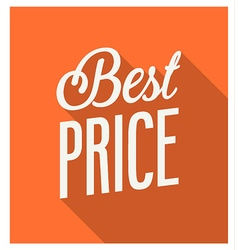 Best price banner vector