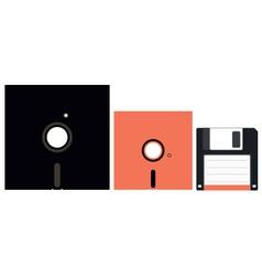 Floppy disks vector