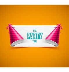 Its Party Time vector image vector image