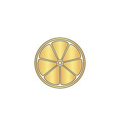 Lemon computer symbol vector