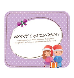Cute Christmas Cards vector image