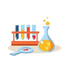 Chemistry education design vector