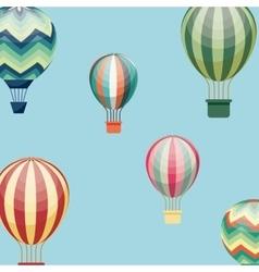 air balloon design vector image