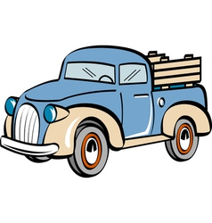 Farm truck vector image