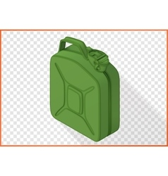Jerrycan 3d flat isometric vector
