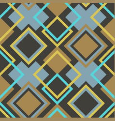 Abstract seamless geometrical pattern vector