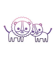 cute animals design vector image vector image