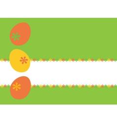 easte yellow vector image