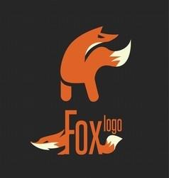fox logo 5 vector image vector image