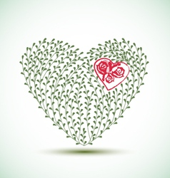 heart vector image