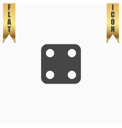 One dices - side with 4 vector