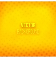 Yellow Blurred Background With Halftone Effect vector image vector image