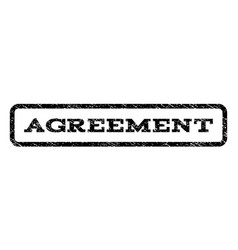 Agreement watermark stamp vector