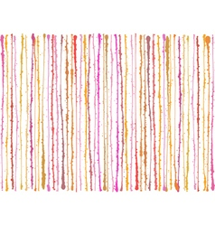 Pink orange splatter grunge lines background vector