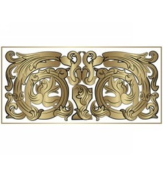 Renaissance Royal classic ornaments vector image vector image