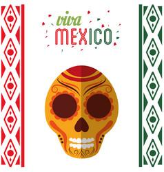 viva mexico invitation party vector image vector image