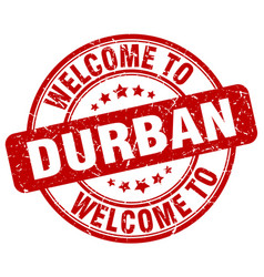 Welcome to durban vector