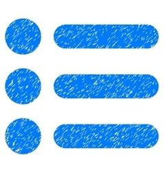 Items grainy texture icon vector