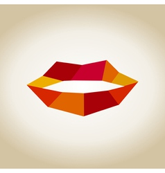 Lips9 vector image vector image
