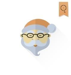 Santa Claus Head vector image