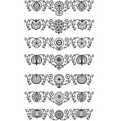 Ornament elements vector