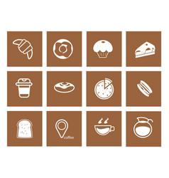 coffee icon 9 vector image vector image
