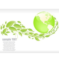 Eco abstract background vector image