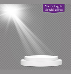 Glow light effect christmas vector