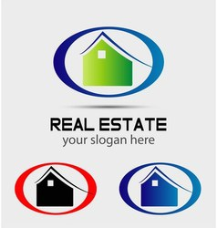 Home renovation logo vector image vector image