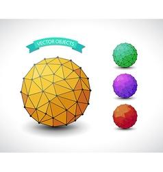 Molecular sphere set vector