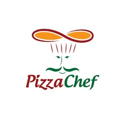 Pizza chef vector