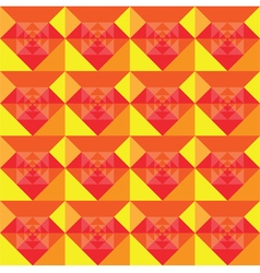 Squares seamless summer background design vector