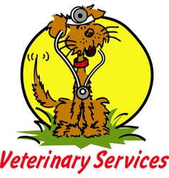 Veterinary services vector