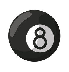 Billiard ball eigh vector