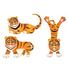 Cartoon tiger vector