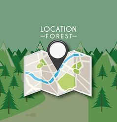 gps location vector image vector image