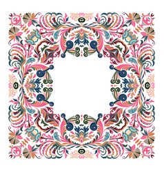 precious frame for design template ornate vector image