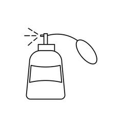 Parfume icon vector