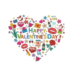 Valentines day clip art vector