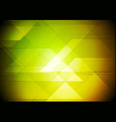 colorful abstract tech geometric background vector image