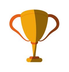 Trophy cup icon image vector