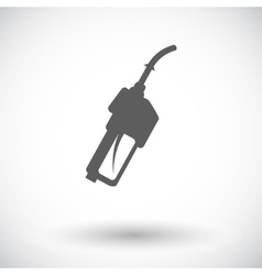Refueling nozzle icon vector