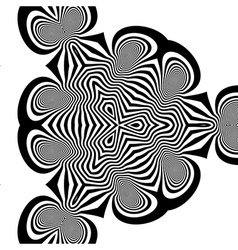 Abstract Background With Curves Lines vector image
