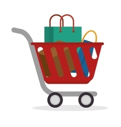 Shopping concept design vector