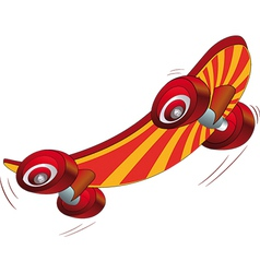 skate board vector image vector image