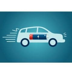 Electric Cars Charging vector image